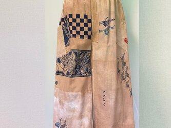 No.1218 男女兼用 手ぬぐいズボン(裏地付き)の画像