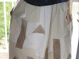 帯芯のギャザースカートの画像