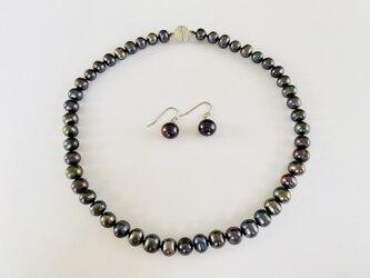 淡水バロックパール ネックレスの画像