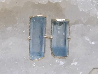 aquamarine*K10 pierceの画像
