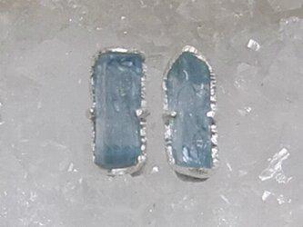 aquamarine*925 pierceの画像