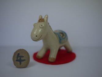 馬の干支の画像