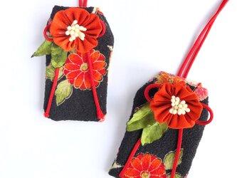(ダリア)元巫女が作る花のお守り袋の画像