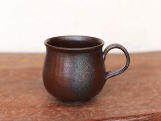 備前焼 コーヒーカップ(中) c2-221の画像