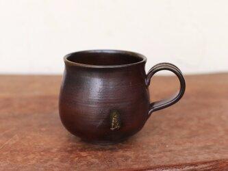 備前焼 コーヒーカップ(中) c2-222の画像