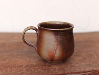 備前焼 コーヒーカップ(中) c2-228の画像