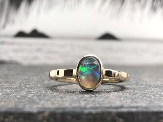 """Opal Ring of Ripple Arm """"キラキラ輝くアームのオパールのリング""""の画像"""