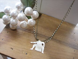 Sumo Wrestler necklaceの画像