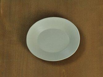 楕円5寸皿/アイボリーの画像