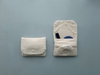 tissue pouch #organic cotton Garabouの画像