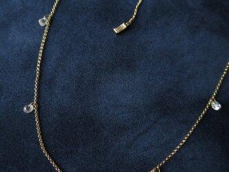 K18 Briolette cut Diamonds  Necklaceの画像