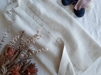 【Mサイス ロングタイトスカート】Modern Ivoryの画像
