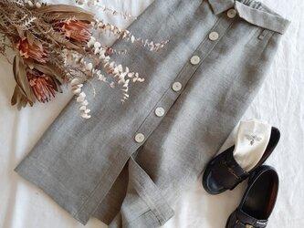 【Mサイス ロングタイトスカート】Modern Herringboneの画像