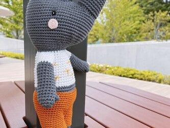 あみぐるみ サイ 編みぐるみ プレゼント ハンドメイド 男の子 出産祝い 女の子 お部屋飾り 手編みの画像