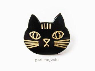 黒猫の指輪の画像
