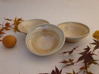 白釉鉢(中) の画像