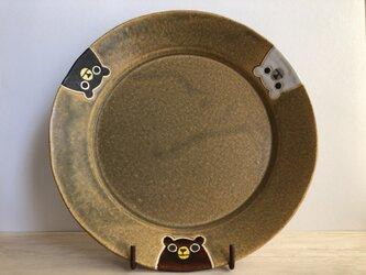 リムプレート(3クマ・カーキ)の画像