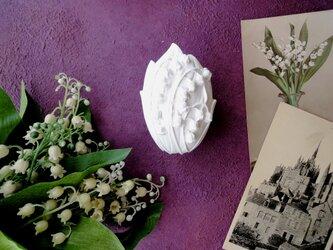 アロマストーン ■ すずらん オーバル タテ型 ■ 6種類から香りが選べるの画像