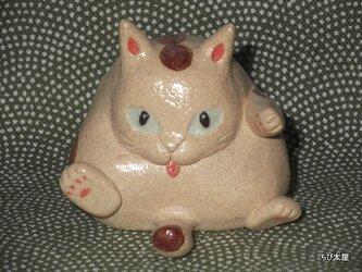 猫土鈴 5の画像
