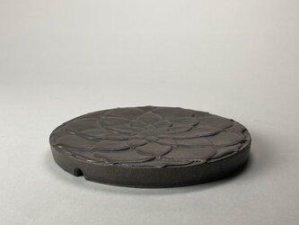 灰秞 陽刻蓮弁文 台皿の画像