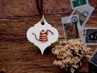 珈琲屋さんのアロマストーン ■ 壁にかけるタイプ ■ 6種類から香りが選べる Aの画像