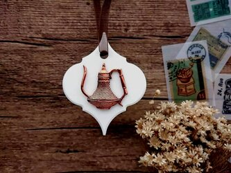 珈琲屋さんのアロマストーン ■ 壁にかけるタイプ ■ 6種類から香りが選べる Bの画像