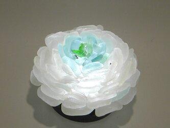 シーグラス 花びらのテーブルランプ-9の画像