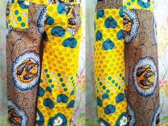アフリカ布パンツの画像