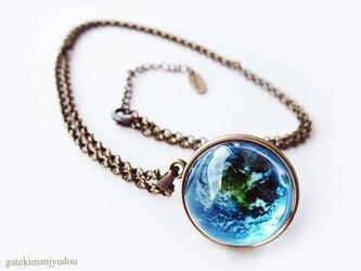 地球ネックレス【長さ変更可】の画像