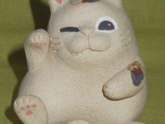 猫土鈴 7の画像