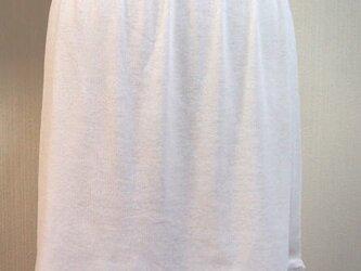 フリル大好きペチスカートE(白色)の画像