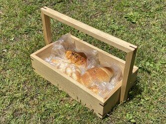 栗のキャリーボックスの画像
