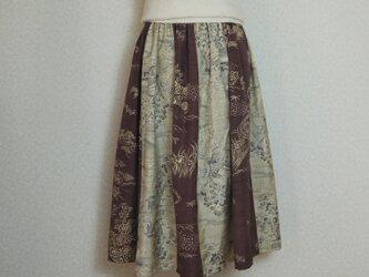 ギャザースカート 7098の画像