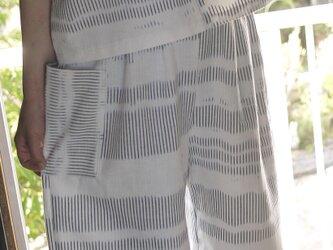 A様専用久留米絣のセットアップの画像