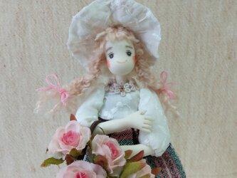 ピンクのお花の画像