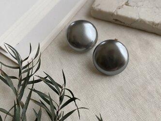 主役級イヤリング!20mm! ソフトタッチ痛みなくしっかりとホールドのイヤリング!pearls earringsの画像