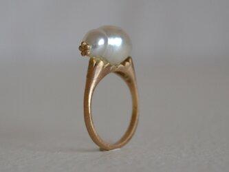 Luce pearl ringの画像