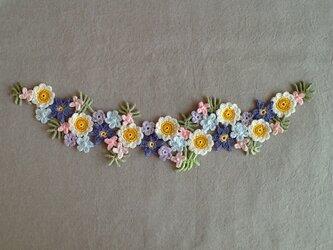 レース編み*お花のモチーフの画像