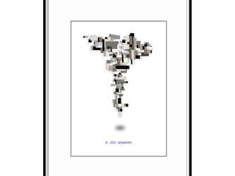 「カナリアの鳴き声を抱きしめて」 ほっこり癒しのイラストA4サイズポスター No.782の画像