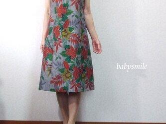 babysmile ★着物リメイク★ジャンパースカート 紬の画像