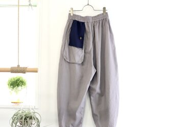 flag flap pants (gray)の画像