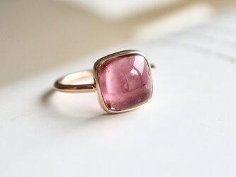 K10[ベリー風味のpinkトルマリン]ringの画像