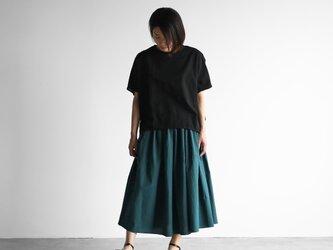 コードレーンロングスカート(ダークグリーン)【レディス】U402の画像