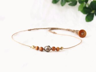 Brown Nature(short necklace)の画像