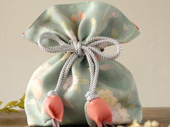 再販 着物 巾着 桜文 幸せを呼ぶFUGUROの画像