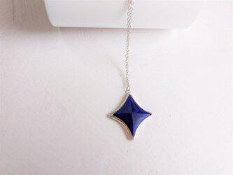 七宝ペンダント(ダイヤ)紺青の画像