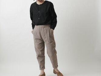 【new】備後節織パンツ|ヒノキ染め|ユニセックス3サイズの画像