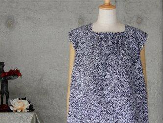 着物リメイク 浴衣のトップス/抽象柄の画像