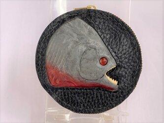 ピラニアの本革コインケース(ノーマル)の画像
