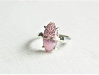 七宝リング(バイカラー)ピンクの画像